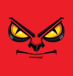 comic faces show angry vector image vector image
