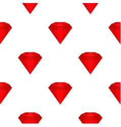 Ruby pattern seamless vector