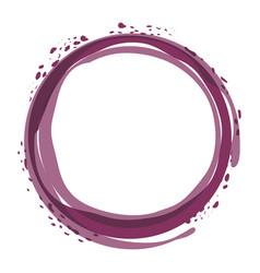 Wine bubble liquor beverage vector