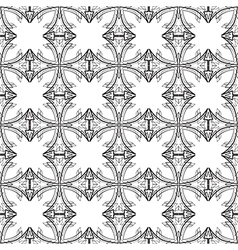 Black and White graphic pattern abstract backgroun vector