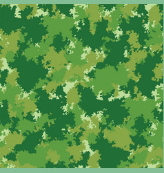 camo seamless colorful camouflage fabric pattern vector image