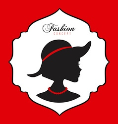 feminine fashion vector image