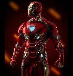Iron man endgame vector