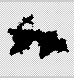 Map tajikistan isolated vector