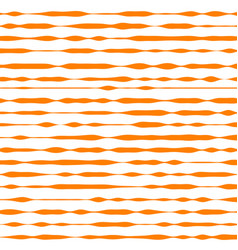 orange and white striped background vector image