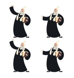 Patriarch of the orthodox church vector