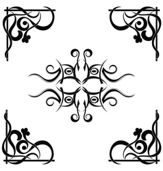 Tribal tattoo pattern vector