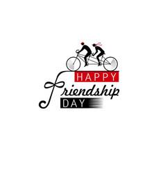 international friendship day vector image