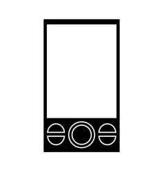 smartphone mobile technology communication vector image