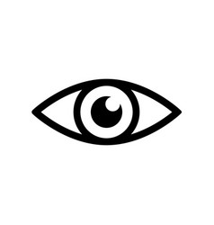 eye icon - vector image