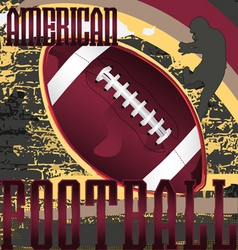 football design poster vector image vector image