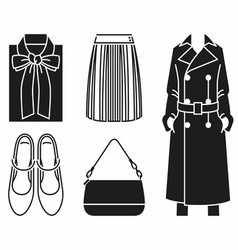 Fashion Clothes vector image