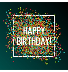 celebration birthday vector image