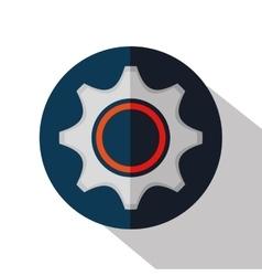 gear machine cog icon vector image