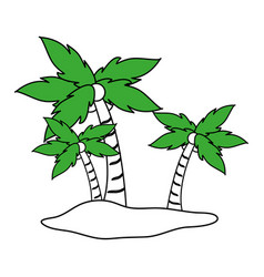 island icon design vector image