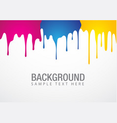 Paint drop background vector