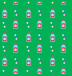 Seamless background pattern medicine vector
