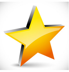Star graphics - star favorite icon 5-pointed star vector