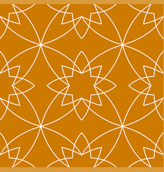 vintage ornamental pattern vector image