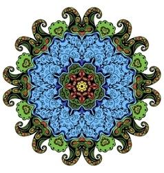 Hand-drawn mandala vector image