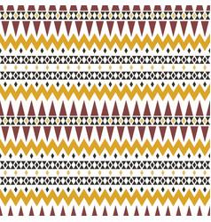 Autumn tribal ornament geometric tradition vector