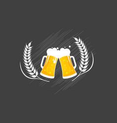 beer craft design vector image