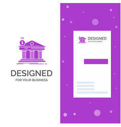 business logo for architecture bank banking vector image