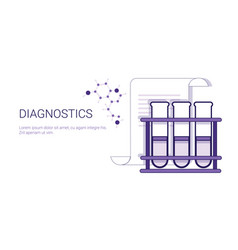 diagnostics medical treatment business concept vector image