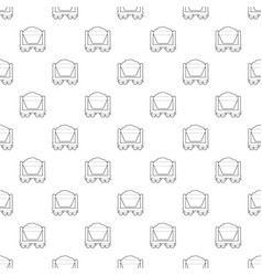 Mine cart pattern seamless vector