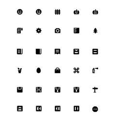 Mini icons 28 vector