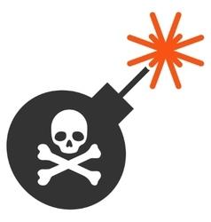 Mortal Bomb Icon vector