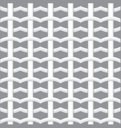 Realistic woven fiber seamless pattern with vector