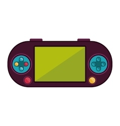 Remote control for games with screen vector