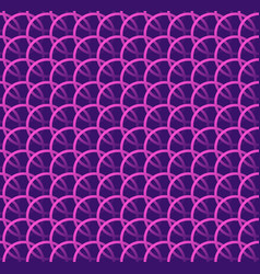 repeatable pattern w interlocking circles rings vector image