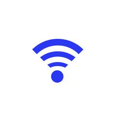 wi fi symbol vector image