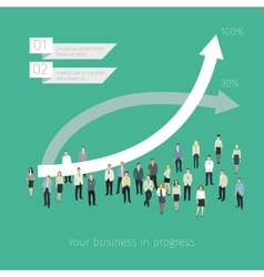Concept of success vector image