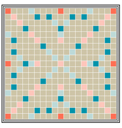 board game erudition board biggest scrabble vector image