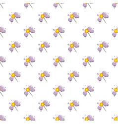 magic wand pattern vector image vector image