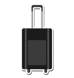 Bag baggage luggage design vector