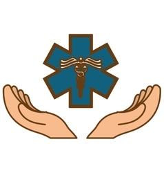 Medical symbol icon vector
