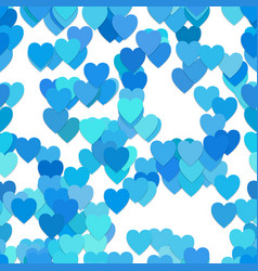 Repeating heart pattern background - from hearts vector