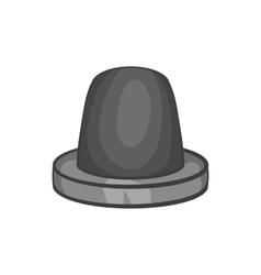 Siren icon black monochrome style vector