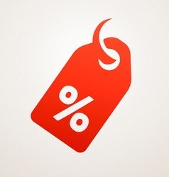 Price Tag with SALE vector image vector image