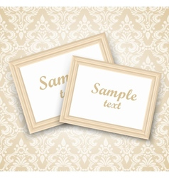 Background with frames vector image vector image