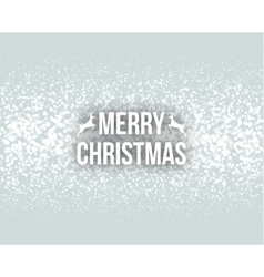 Merry Christmas Retro Design Typography Lettering vector image vector image