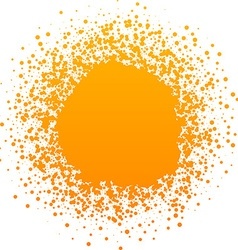 Background with sun vector