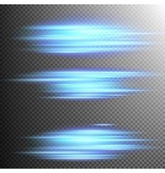 Blue lights lines effect Lens EPS 10 vector