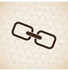 chain link design vector image