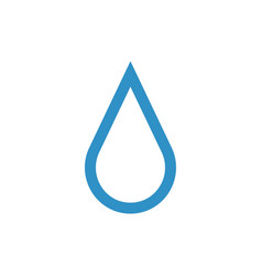 droplet graphic design template isolated vector image