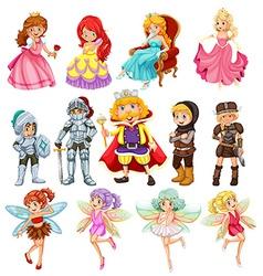 Fantasy characters vector